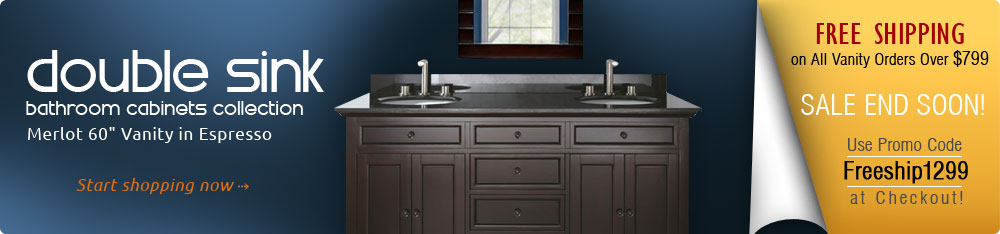 Avanity Bathroom Cabinets Collection